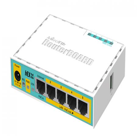 Mikrotik RB750r2 hEX Lite