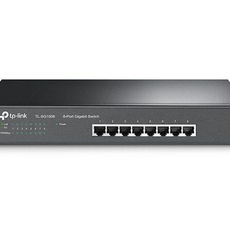 TL-SG1008PE | 8-Port Gigabit Desktop/Rackmount Switch