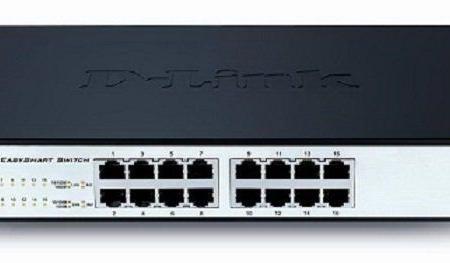 D-Link 16-port Switch DGS-1100-16