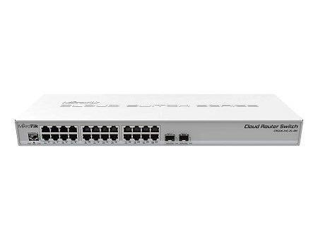 Mikrotik Cloudrouter Switch CRS326-24G-2S+RM