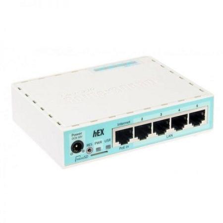 Mikrotik hEX Router RB750GR3