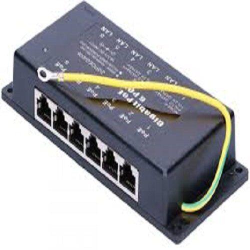 extralink poe injector 6 port gigabit