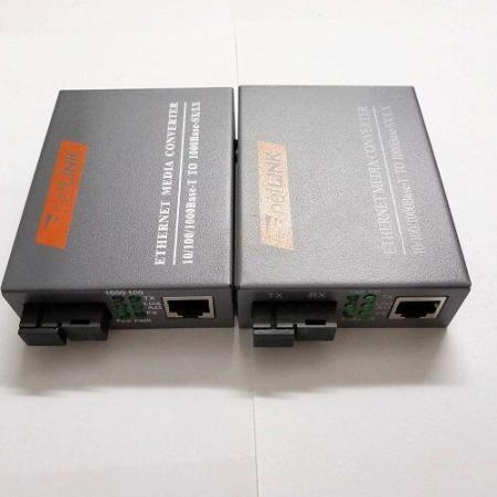 Netlink Gigabit Single-mode Media Converter