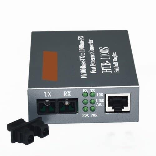 Netlink Single-mode Media Converter